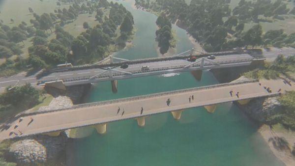 Nouveau pont de la Dumbéa