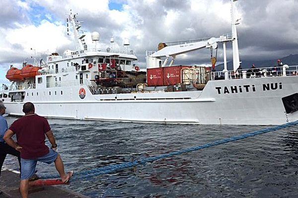 Le Tahiti nui a quitté Papeete pour les Australes