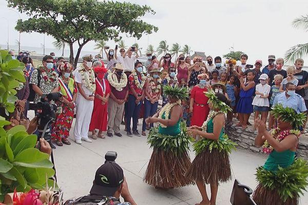 Tournée Etat-Pays aux Tuamotu