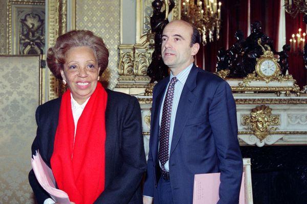 Lucette Michauc-Chevry et Alain Juppé