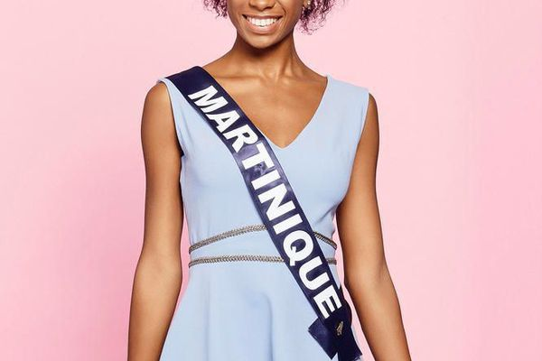 Olivia Luscap, 18 ans, Miss Martinique