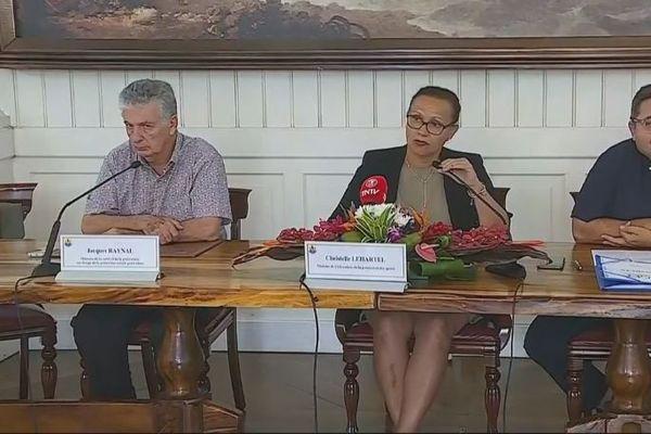 Conférence de presse du gouvernement