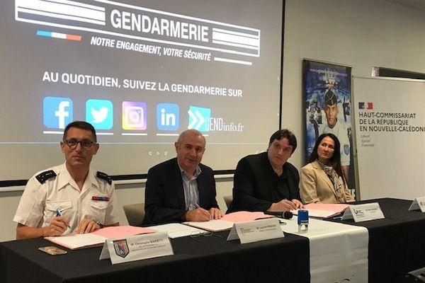 convention unc gendarmerie