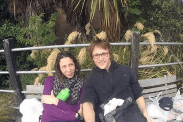 Pavlina Pizova et son conjoint, Ondrej Petr avant leur randonnée