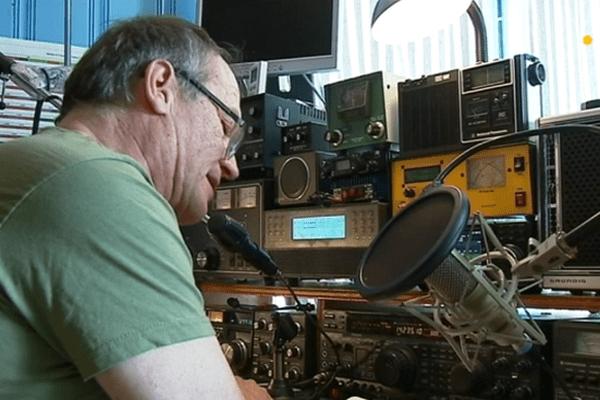Jean-Christophe Lebon, radioamateur passionné