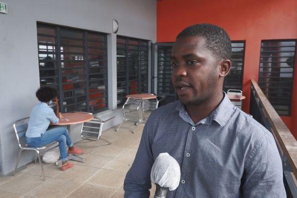 Moustapha Aladji président de l'UNEF Guyane / vice-président étudiant au conseil d'administration du CROUS