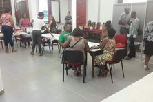 Le bureaux centralisateur de Matoury à l'hôtel de ville