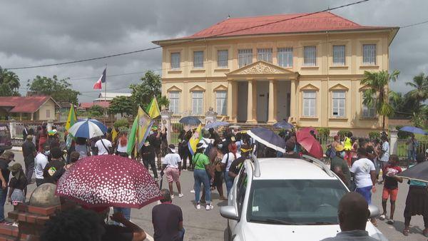 Une marche contre l'insécurité à Saint-Laurent du Maroni
