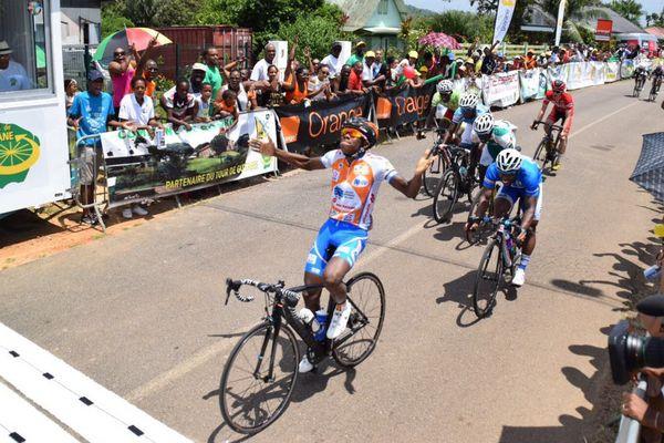 Terry Tsang Yee Moï vainqueur de la 2ème étape