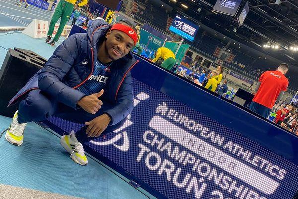 Amaury Golitin aux championnats d'Europe de Tallins 2021 en Estonie
