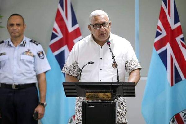 Frank Bainimarama fidji