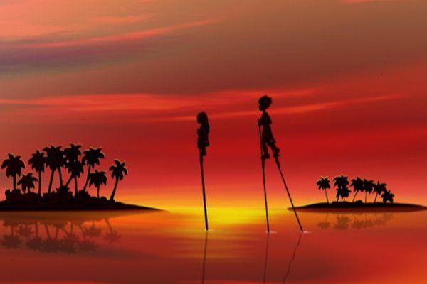 """""""Tahitoa"""" le clip-dessin animé de Guy Wallart et Léo Marais, à découvrir sur Polynésie 1ère TV, radio et internet"""