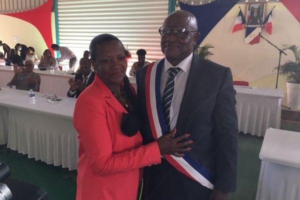 Camille Elisabeth, maire de Pointe-Noire