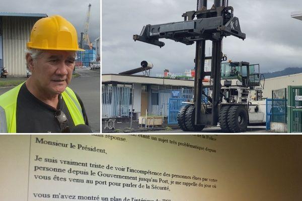 Sécurité au port, l'exaspération du syndicat des manutentionnaires