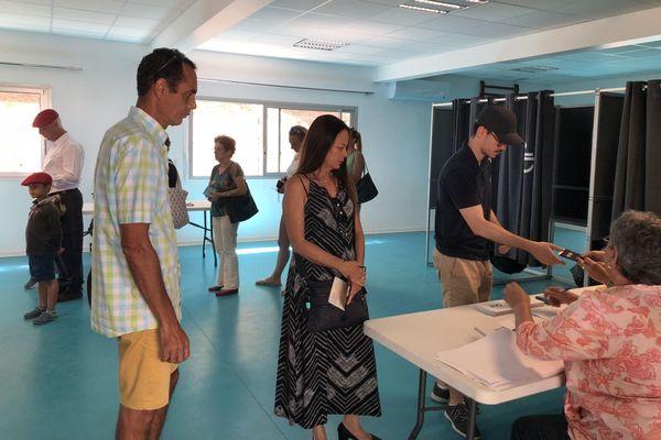 Référendum 2018, vote à Nouméa