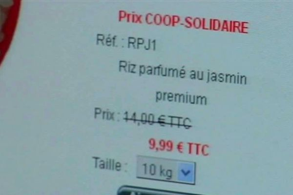 Coopérative solidaire : Riz à moins d'1 euro