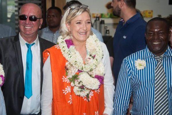Marine Le Pen à Mayotte