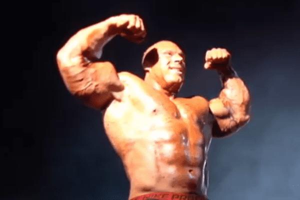 Morgan Aste, body builder