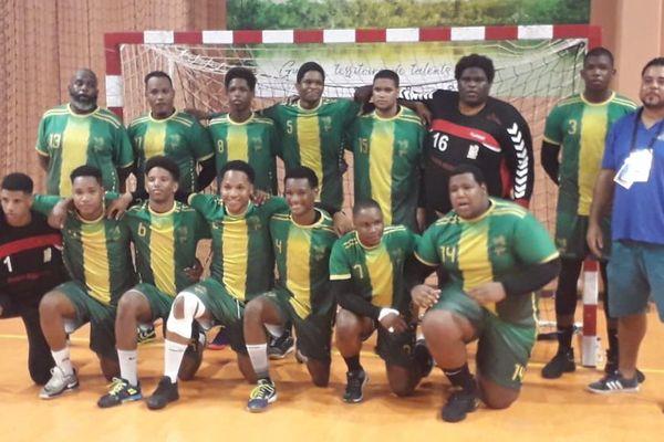 L'équipe de handball de Montjoly