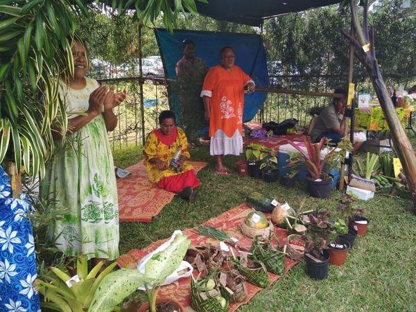 Grand marché de Yaté