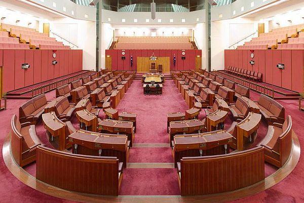 Le sénat australien