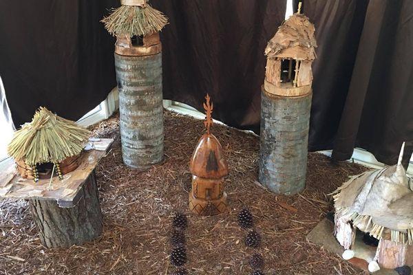 Nyî Mwâ - maquettes de case