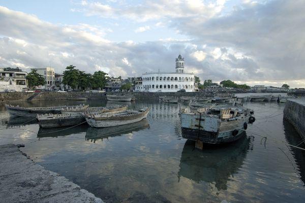 Grande Comore : le port de Moroni