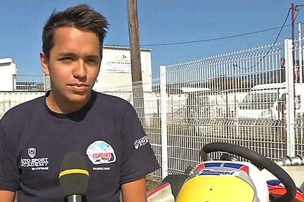 Naim Bangui parmi l'élite du karting français
