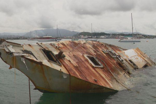 Epave bateau Nouméa