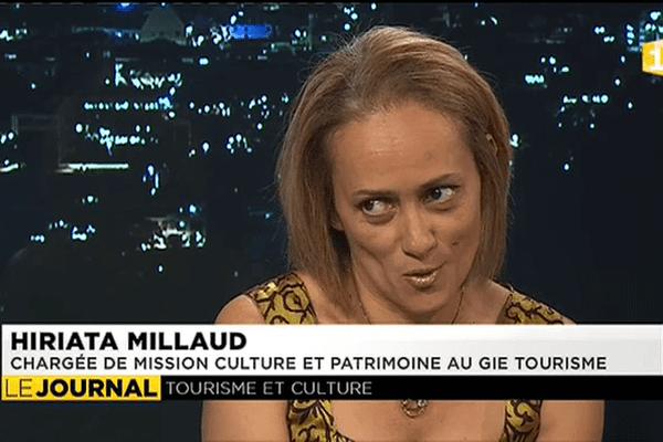 Hiriata Millaud, chargée de mission culture et patrimoine au GIE Tahiti Tourisme