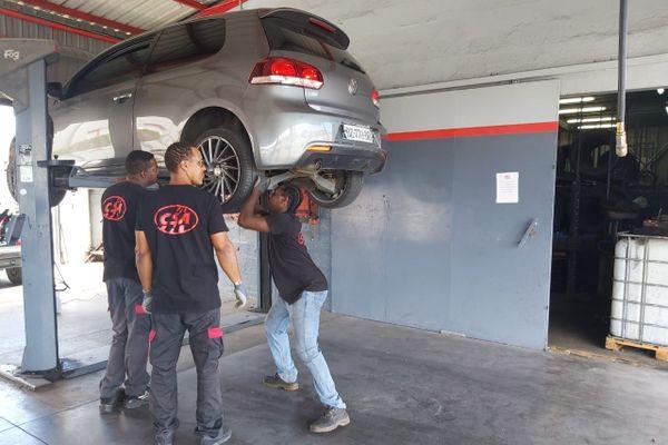 garage en confinement