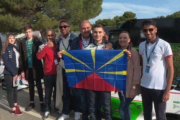 Reshad de Gerus jeune pilote réunionnais passe à la Formule 3 030120