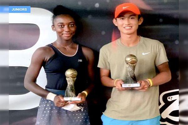 Tennis tournoi du Brésil jeunes