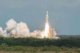 Décollage de la fusée Ariane 5