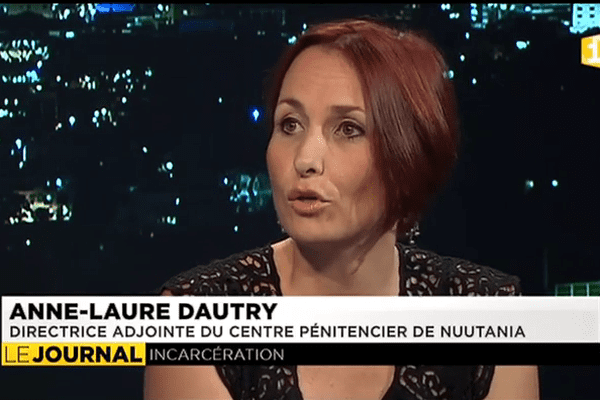 Anne Laure Dautry, directrice du centre pénitentiaire.