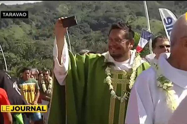 JMJ : rassemblement de la Jeunesse Catholique à Taravao