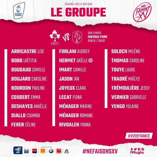 Rugby : Yolaine Yengo sélectionnée en équipe de France