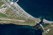 Vue aérienne du goulet du grand étang datant de 2005