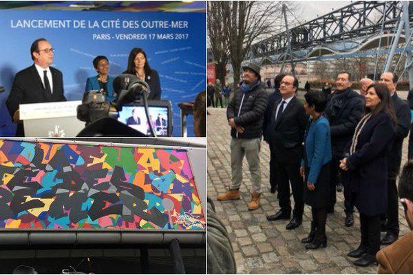 Le lancement controversé de la cité des outre-mer à Paris