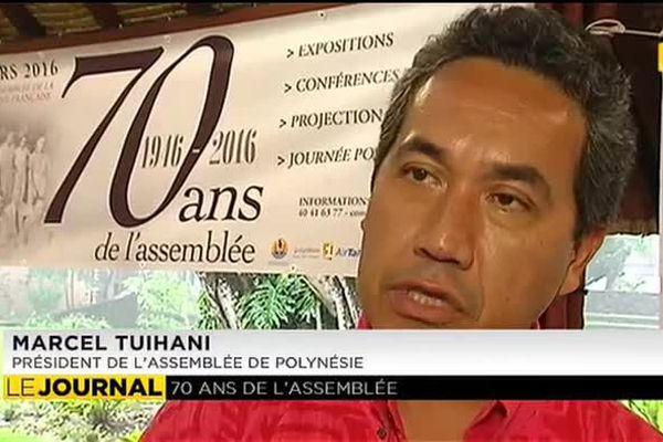L'assemblée de la Polynésie française fête ses 70 ans