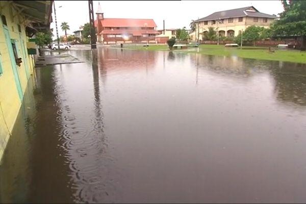 Inondation à Saint-Laurent