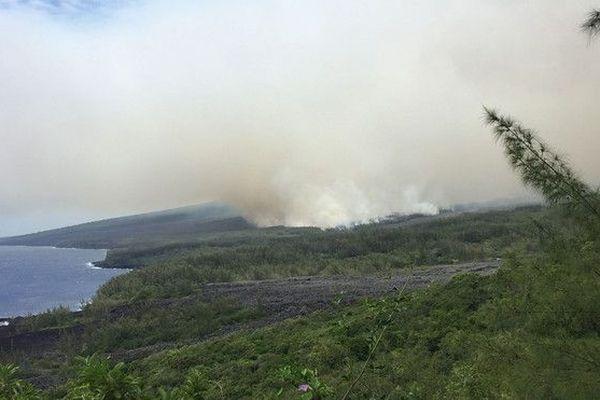 Incendie Grand Brûlé 1000 hectares détruits 250119