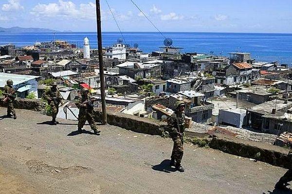 Les militaires dans Anjouan