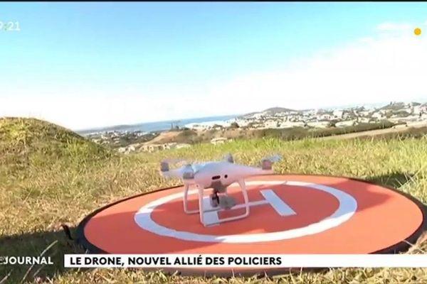 Drone : la police calédonienne prend de la hauteur