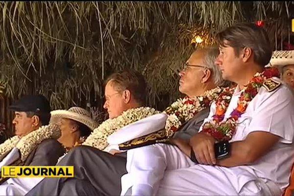 Le Haut-commissaire à Rurutu