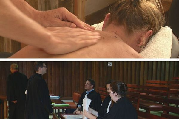 Justice salon de massage