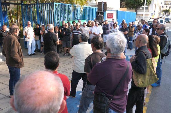 Mobilisation de l'intersyndicale des retraités, juin 2020