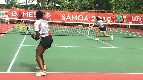 Samoa 2019, tennis double