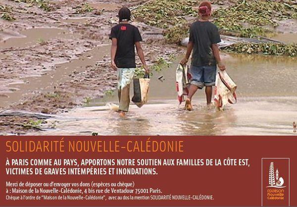 Appel aux dons Maison de la Nouvelle-Calédonie