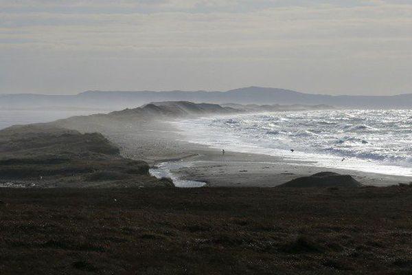 Erosion du littoral de Miquelon